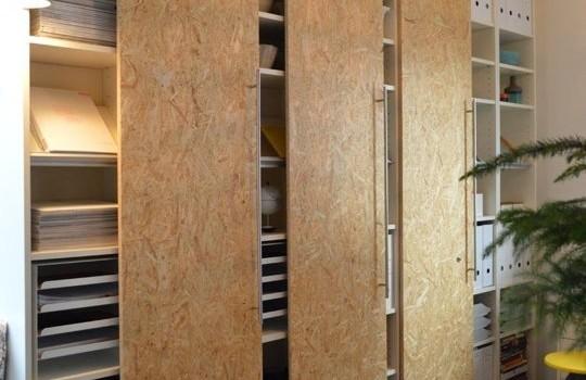 IKEA-s szekrény utánzat OSB lapból - Árvai Fatelep